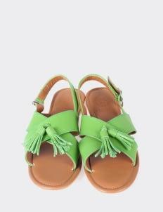 Aschas Light Green Rochas Sandals