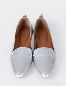 Aschas Metallic Hepburn Flats