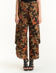 Bateeq Brown FL012F-SS18 Long Pants