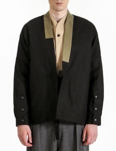 jan sober Black Kimono Outer
