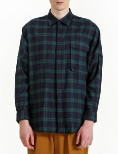 jan sober Green Tartan Shirt