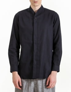 jan sober Navy Blue Shirt