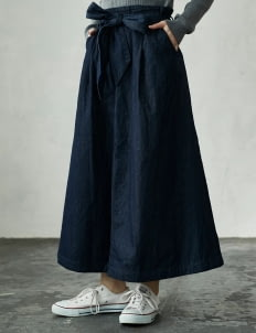 American Holic by Stripe Japan Washed Zoe Denim Skirt
