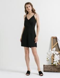CLOTH INC Black Back Lace Playsuit