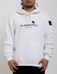 W.Essentiels White Ecume ''Moulin'' Oversized Hoodie