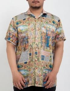 W.Essentiels Multicolor De Cotte Full Printed Shirt