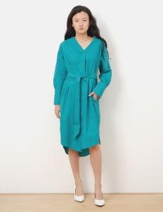 American Holic by Stripe Japan Green Fanille Dress
