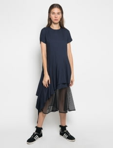 Henrixa Black & Blue Opera Dress