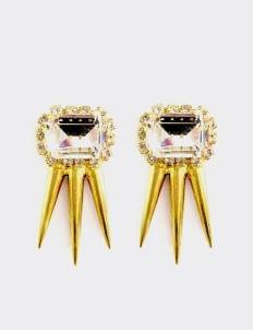 EPAJewel Gold Crystal Studs Earring