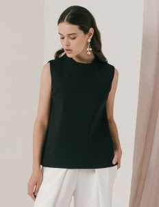 M By Mischa Black Shelby Top