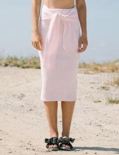 Goya Blush Shrimp Skirt