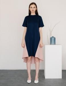 Posh The Label Navy Elisa Dress