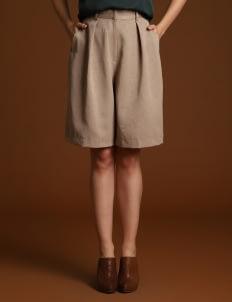 Wearstatuquo Gray Knee-High Culottes