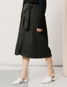 ATS THE LABEL Black Abbie Skirt