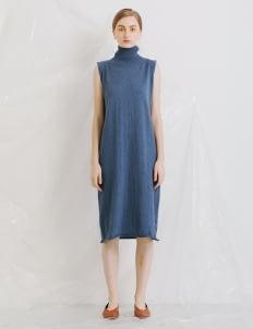 ATS THE LABEL Navy Xava Dress