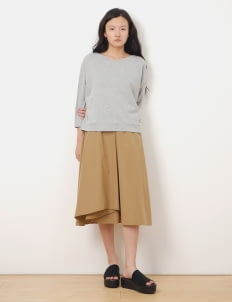 American Holic by Stripe Japan Light Gray Erika Pullover