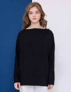 Day and Night Black Diana Top