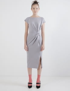 Nore Gray Nore Dress