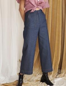 Starry Blue Denim Jane Pants