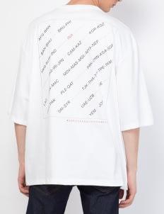 KOMMA White Square Limited T-Shirt
