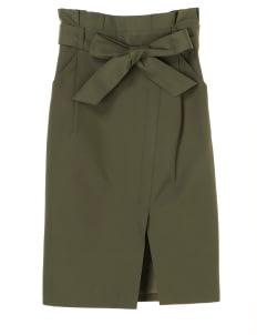 Yecca Vecca by Stripe Japan Khaki Shenna Pencil Skirt