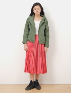 American Holic by Stripe Japan Red Lany Maxi Skirt