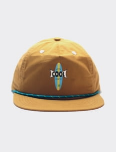 Cool Caps Light Brown Let Surf Cap