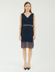 NADIYA Dark Blue Hailey Dress