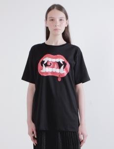 DIBBA Black Stranger Danger T-Shirt