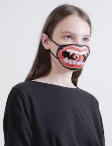 DIBBA Black & Red Stranger Danger Mask
