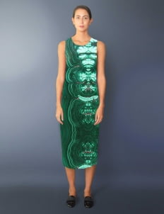 Void Cities Green Rosequartz 03 Dress