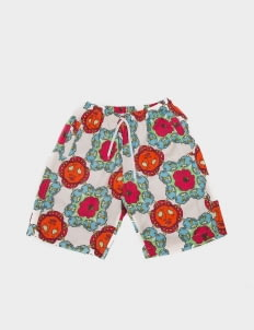 Uji Hahan Handoko Blue & Red Uji Hahan Shorts