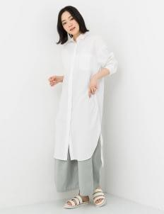 Sevendays Sunday by Stripe Japan Off White Hilee Shirt Dress
