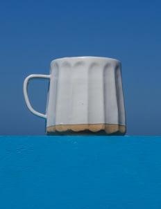 Ayu Larasati Ceramics White Cups (220ml)