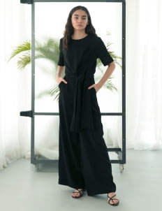 Eesome Black Figs Jumpsuit