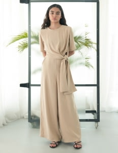 Eesome Nude Figs Jumpsuit