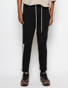 Muzca Black Essential Track Pants