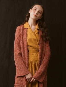 ATS THE LABEL Tangerine Kacela Outerwear