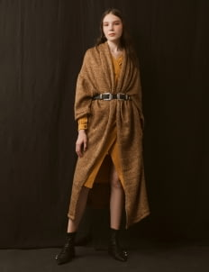 ATS THE LABEL Brown Qiana Outerwear