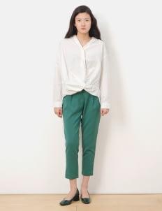American Holic by Stripe Japan Green Morgan Ankle Pants