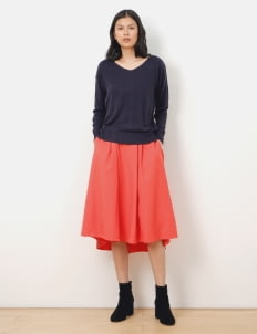 Green Parks by Stripe Japan Navy Victoria Sweater