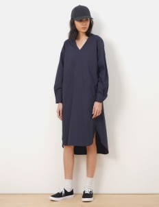 American Holic by Stripe Japan Navy Luna Relaxed Dress