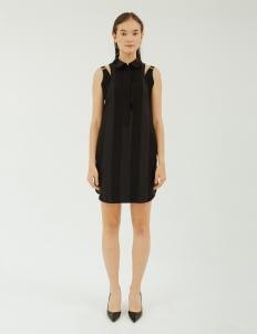 NADIYA Black Zane Dress
