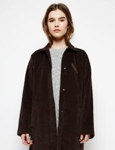 Muzca Brown Hebe Corduroy Coat