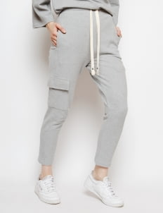 Muzca Gray Kiyome Sweatpants