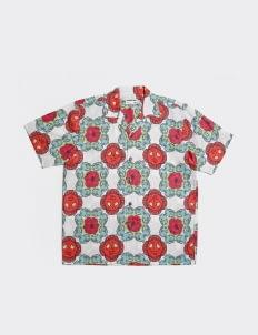 Uji Hahan Handoko Blue & Red Uji Hahan Shirt