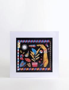 Art Of Life Black AOL x Tempa Art Print