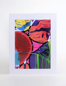 Art Of Life Multicolor AOL x Andhika W. Art Print