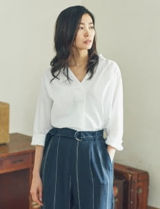 Sevendays Sunday by Stripe Japan Off White Dean Blouse