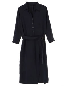 Yecca Vecca by Stripe Japan Navy Stacie Dress